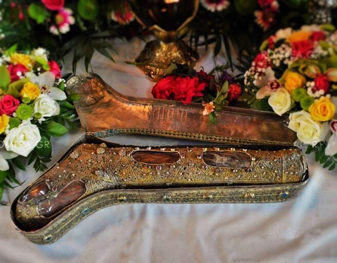 Το άφθαρτο πόδι της Αγίας Φωτεινής