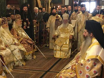 Συνοδική Θεία Λειτουργία στην Καστοριά