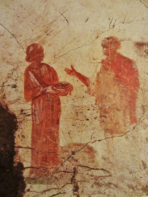 Νωμογραφία 3ου αιώνα κατακόμβη praetextatus Ρώμη