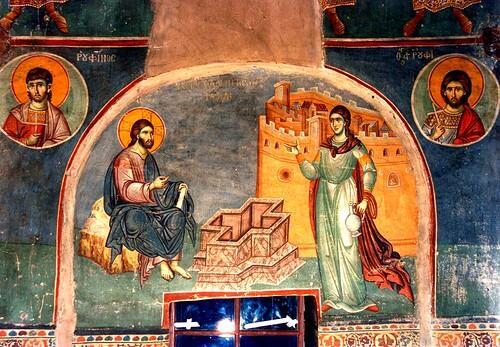 Τοιχογραφία Μανουήλ Πανσελήνου πρωτάτο Αγίου Όρους