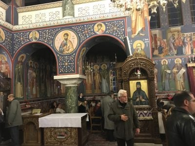 Α Χαιρετισμοί-Κηφισιά: Πλήθος πιστών στον Ιερό Ναό Αγίας Τριάδος