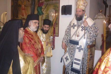 Η εορτή της Αγίας Φιλοθέης στη Νέα Ιωνία