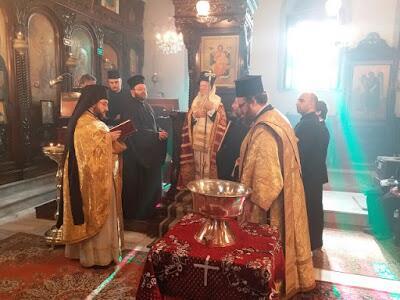 Ο Αλεξανδρουπόλεως Άνθιμος στον Οικουμενικό Πατριάρχη