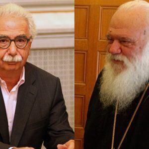 Γαβρόγλου εναντίον Ιεράς Συνόδου: «Να είναι πιο μετρημένη στα λόγια της»