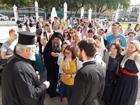 Τον Αρχιεπίσκοπο Κύπρου επισκέφθηκαν νέοι και νέες του διεθνούς ορθόδοξου φεστιβάλ «ΑΔΕΛΦΙΑ»