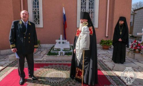 Φόρος τιμής στους κεκοιμημένους Ρώσους διπλωμάτες στους Αγίους Τόπους