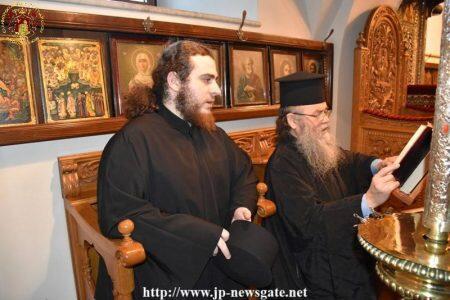 Η Συγχωρητική Ευχή της Μεγάλης Τεσσαρακοστής στο Πατριαρχείο Ιεροσολύμων