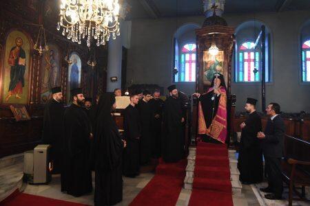 Πατριαρχική Χοροστασία στον Ι. Ναό Αγίων Θεοδώρων Βλάγκας