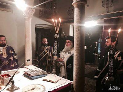 Κέρκυρα: Προηγιασμένη Θεία Λειτουργία στο Ι.Π. του Αγίου Σπυρίδωνος