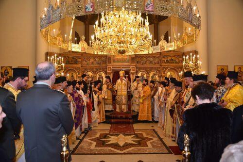 Κυριακή της Ορθοδοξίας: Πλήθος κόσμου στον Ναό Παμμεγίστων Ταξιαρχών Βρυξελλών