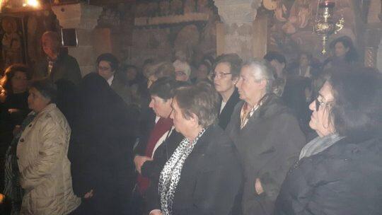 Προηγιασμένη Θ. Λειτουργία στην Ι. Μονή Αγίου Νικολάου Άνω Βάθειας