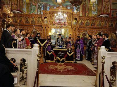 Αρχιερατικό Ευχέλαιο στον Ιερό Ναό Ζωοδόχου Πηγής Αμπελοκήπων
