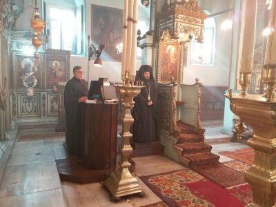 Α Κατανυκτικός Εσπερινός στον Ι. Ναό Αγίου Νικολάου Τοπ Καπί