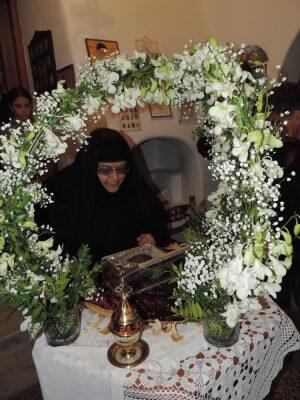 Η Μύκονος υποδέχθηκε την Τίμια Κάρα του Αγίου Μηνά