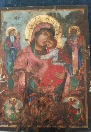 Επιστρέφει η κλαπείσα εικόνα της Παναγίας των Κοιλαδαίων