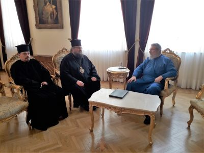 Συναντήσεις Κύπρου Χρυσοστόμου με εκπροσώπους των Ορθοδόξων Εκκλησιών