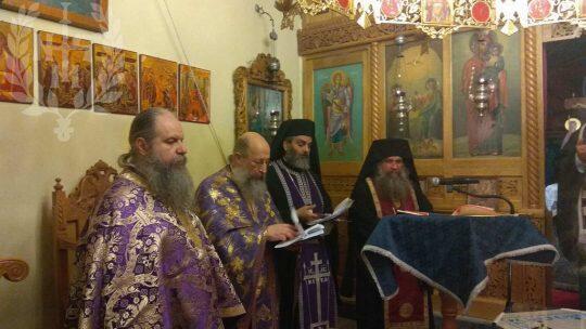 Αρχιερατικό Ευχέλαιο στην Ιερά Μονή Αγίας Τριάδος Ευκαρπίας