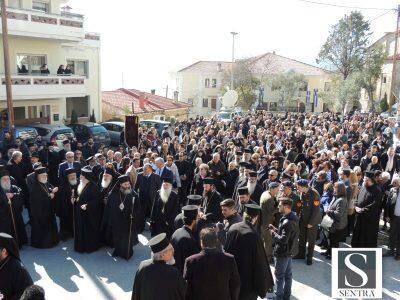 Ιστορικές στιγμές στην Καστοριά: Επιμνημόσυνη δέηση στον τάφο του Παύλου Μελά