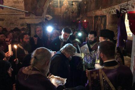 Χαλκίδα: Προηγιασμένη Θεία Λειτουργία-Κουρά Μοναχής Μαριάμ