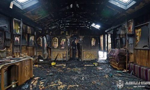Καταστροφή Ιερού Ναού Αγίου Πρίγκιπος Βλαδιμήρου-Συνεχίζονται τα μηνύματα υποστήριξης
