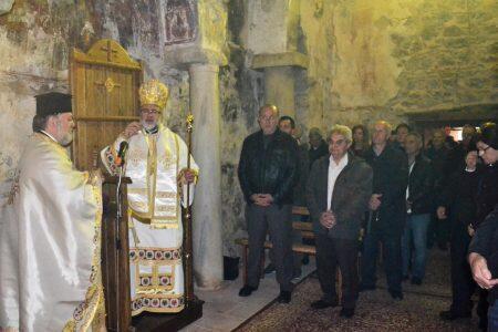 Ο Κώου Ναθαναήλ στην Μονή Παναγίας Καστριανών