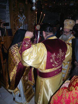 Εις Διάκονον χειροτονία του Μοναχού Παρθενίου της Ι. Μονής Κουδουμά