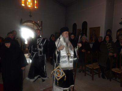 Προηγιασμένη Θ. Λειτουργία στο Ησυχαστήριο Αγίου Γερασίμου Λουτρακίου