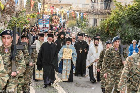 Κοσμοπλημμύρα στα Χανιά για το Ιερό Λείψανο του Αγίου Χαραλάμπους