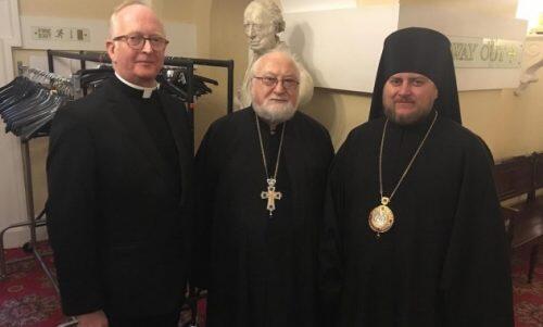 Ιεράρχης της Εκκλησίας της Ρωσίας συμμετείχε στη συνάντηση του Δημάρχου Λονδίνου με θρησκευτικές κοινότητες