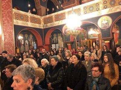 Θήβα: Η Εορτή του δια Κολλύβων Θαύματος στον Ναό των Αγίων Θεοδώρων