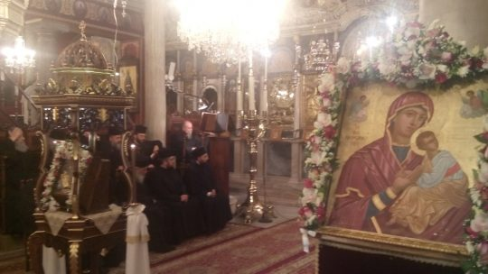 Στην Ερμούπολη η Παναγία Καστριανή από το ιερό Προσκύνημα της Κέας