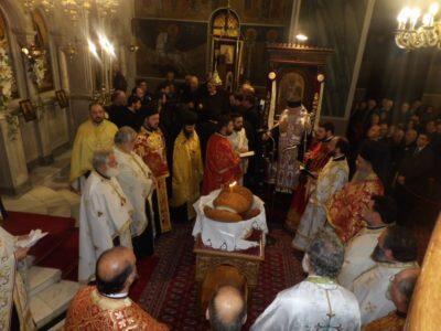 Το Ξυλόκαστρο τίμησε με λαμπρότητα τον Άγιο Βλάσιο