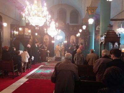 Η σημερινή Πατριαρχική χοροστασία στην Παναγία Βελιγραδίου
