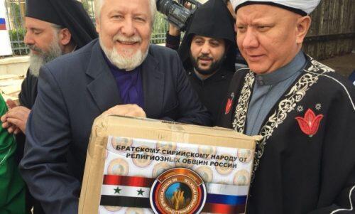 Συρία: Ολοκλήρωση της άνευ προηγουμένου ως προς τον όγκο της διανεμηθείσης βοήθειας διαθρησκειακής ανθρωπιστικής ενέργειας