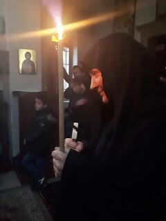 Κουρά μοναχής Σωφρονίας από Ρωσία στην Μονή Αγίου Ιλαρίωνος Προμάχων