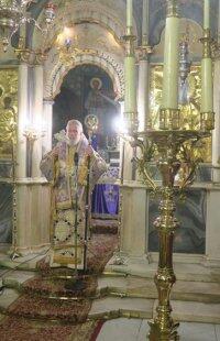 Ερμούπολη: Η Πρώτη Θεία Λειτουργία Προηγιασμένων Τίμιων Δώρων