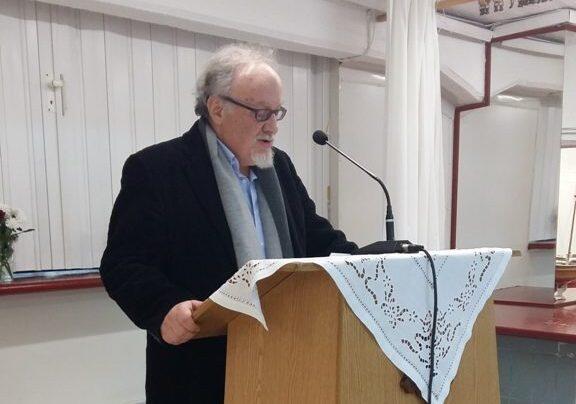 Ομιλία του καθηγητή Α. Σμυρναίου στην εκδήλωση για τους εκπαιδευτικούς του Αγίου Νικολάου