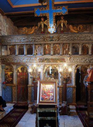 Μεγάλη Τεσσαρακοστή: Πρόγραμμα Ιερών Ακολουθιών Μονής Ιωάννου Προδρόμου Λιβάδι Καρυάς