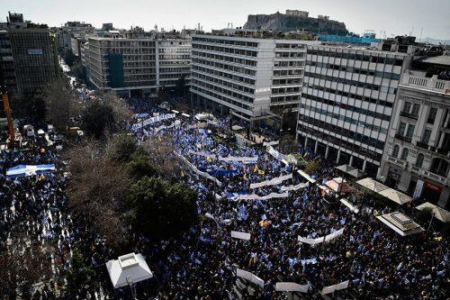 Συλλαλητήριο Αθήνα: 1.5 εκατομμύριο Έλληνες ανατρέπουν τα πάντα-Παγκόσμιο ενδιαφέρον