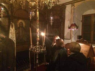 Μονή Υψενής: Κοσμοπλημμύρα στην Εορτή του Αγίου Μελετίου του εν Υψενή