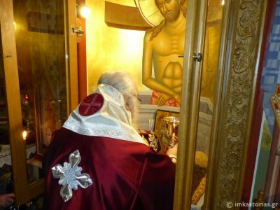 Καστοριά: Εσπερινή Προηγιασμένη Θεία Λειτουργία στον Μητροπολιτικό Ναό