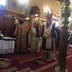 Πανηγυρική Αρχιερατική Θεία Λειτουργία της μνήμης της Οσίας μητρός Φιλοθέης στον Ιερό Ναό Αγίων Μηνά, Βίκτωρος και Βικεντίου Λευκάδος