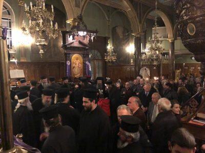 Λευκάδα: Ο Α΄ Κατανυκτικός Eσπερινός στον Ιερό Ναό Ευαγγελιστρίας