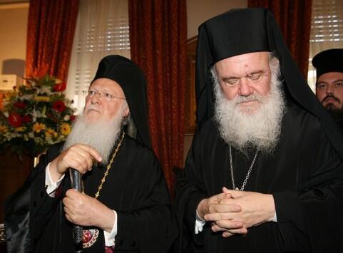 Σημαντικό βήμα για τη βελτίωση των σχέσεων Ιερωνύμου-Βαρθολομαίου