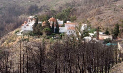 Μονή Παναγίας Οινουσσών: 500.000 ευρώ από την Περιφέρεια για το δρόμο