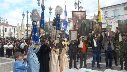 Η Κυριακή της Ορθοδοξίας στο Καρλόβασι