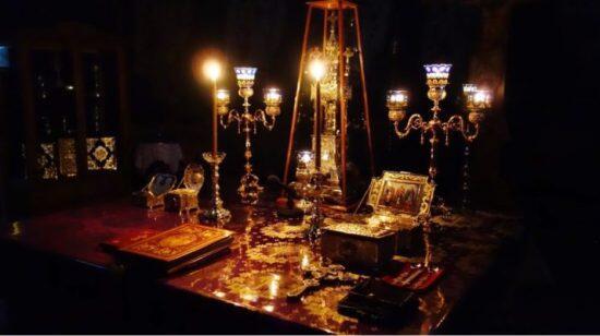 Αγρυπνία πρώτης Προηγιασμένης την Καθαρά Τρίτη στον Άγιο Αχίλλιο