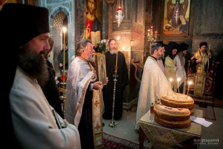 Λαμπρή Εορτή του Οσίου Λουκά στην Ιστορική Βυζαντινή Μονή