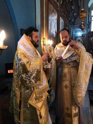 Αρχιερατική Θεία Λειτουργία και Πάνδημο Μνημόσυνο από τον Σηλυβρίας Μάξιμο