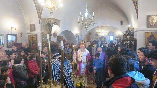 Πλήθος κόσμου σήμερα στην Εορτή της Παναγίας της Μαρτιάτρισσας στη Φολέγανδρο